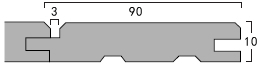 断面形状図